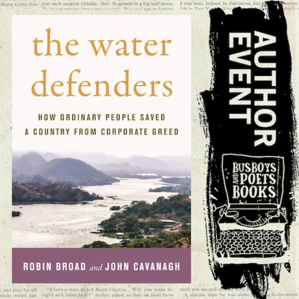 El Salvador, new book launch: The Water Defenders