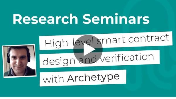 Nomadic Labs Research Seminars #10
