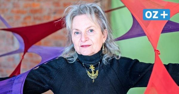 Wittenhagen: Künstlerin Monika Ortmann fertigt Installationen aus Damenstrumpfhosen
