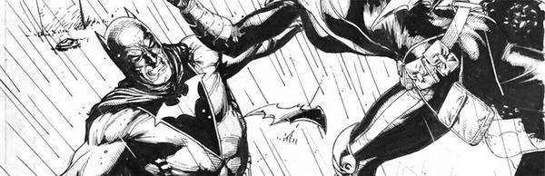 Gary Frank - Batman Original Comic Art