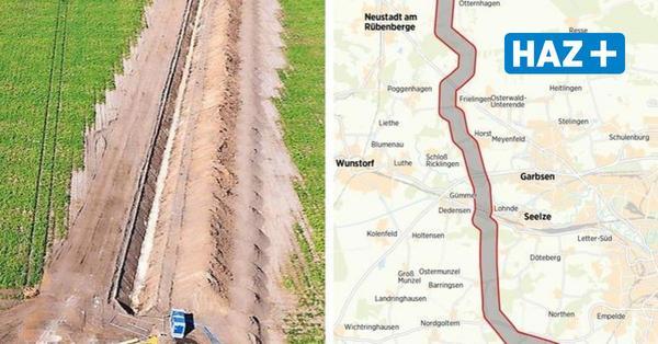 Südlink bei Hannover: Hier verläuft die Trasse durch die Region
