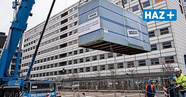 Uniklinik Göttingen richtet Intensivstation in Containern ein