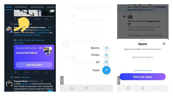 Twitter now highlights Space hosts in your feed and starting rolling out Space creation functionality on Android