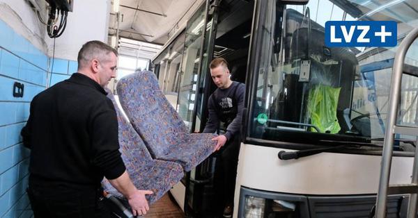 Nordsachsen: So wird aus einem Bus ein rollendes Impfzentrum