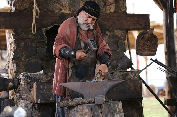 Meet Deli Demir, a blacksmith from the Kayi tribe in the series Ertugrul.