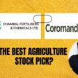 Chambal Fertilisers: A Challenger to Coromandel International