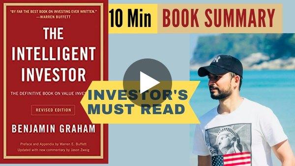 हिंदी  The Intelligent Investor  10 Min Book Summary 