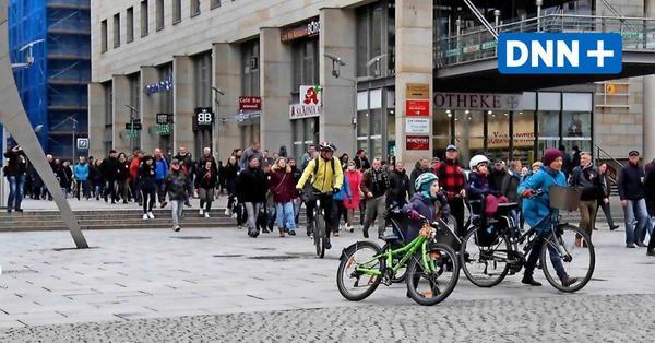 Corona: Hunderte ziehen am Sonnabend durch Dresden