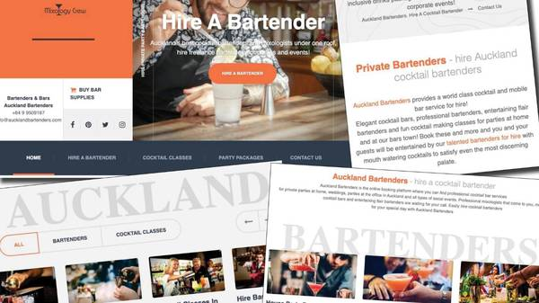 Cocktail contracting: The curious barmen of Auckland - or Dublin