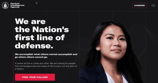 CIA的网站