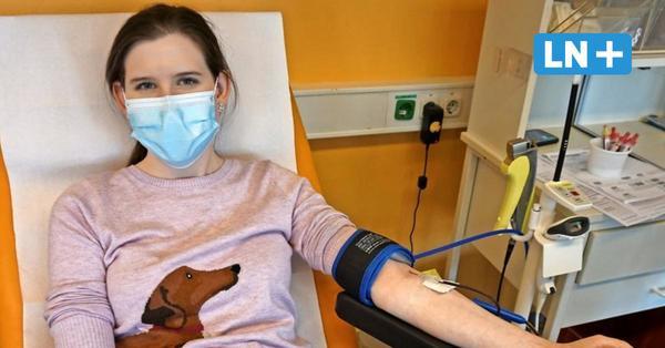 Selbsttest: LN-Volontärin Jule Arista Runde hat zum ersten Mal Blut gespendet