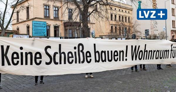 Housing Action Day in Leipzig: Mieter machen gegen Wohnungsgesellschaft mobil
