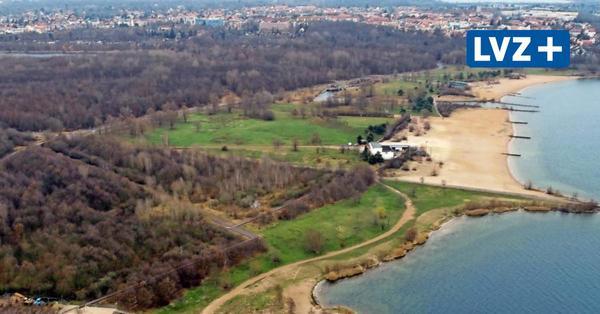 Hubschrauber über Cospudener See: Leipziger Polizei sucht 49-Jährigen