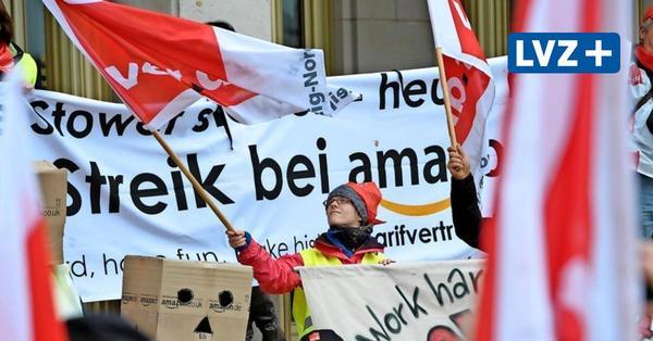 Streiks bei Amazon in Leipzig ab Montag – Konzern-Sprecher: Gewerkschaft spricht nur für Minderheit