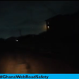 #GhanaWebRoadSafety: Dark roads, pot holes pose danger on Teshie Bush Road stretch