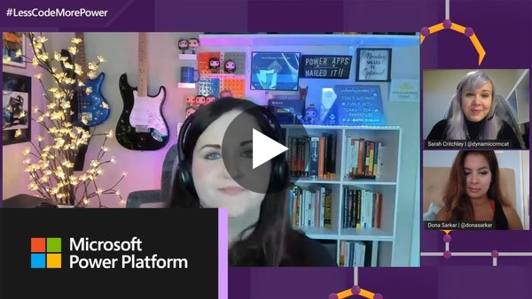 Building Microsoft Teams apps using low code tools with April Dunnam | #LessCodeMorePower