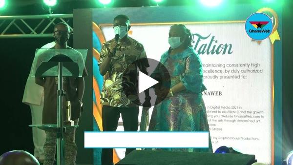 GhanaWeb wins GACA excellence in Digital Media 2021