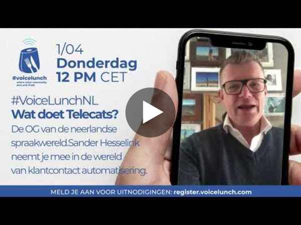 Voicelunch: wat doet Telecats?