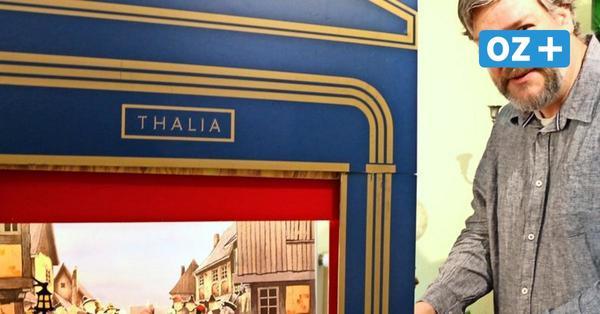 Vom Hobby zum Kulturerbe: Heringsdorfer bastelt Papiertheater selbst