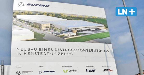 Boeing investiert 30 Millionen Euro in neues Logistik-Zentrum in Henstedt-Ulzburg