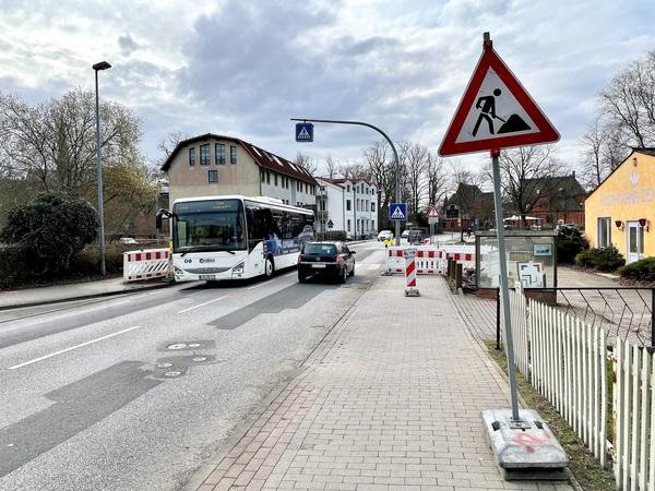 Beethovenstraße in Bad Doberan (Foto: Lennart Plottke)