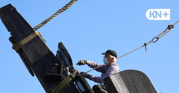 Kieler Hansekogge: Hoffnung nach zwei Jahren in schwerer See