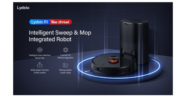 Lydsto Self-Collecting Dust Robot Vacuum - Opening a New Era of Intelligent Robot Vacuum | Business Wire