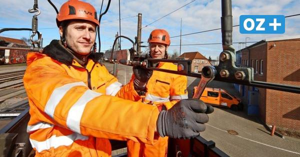 Arbeit unter Lebensgefahr: Ohne Dario Rombola fährt keine Straßenbahn durch Rostock