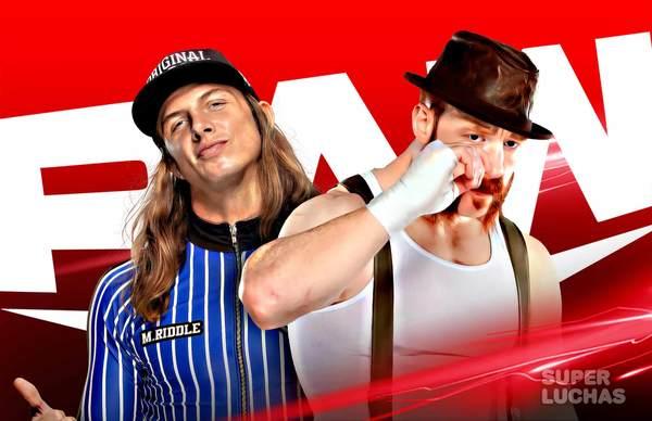 WWE RAW 19 de marzo 2021   Resultados en vivo   Riddle vs. Sheamus