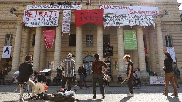 Besetzte Theater in Frankreich: Ein Hauch von Revolution