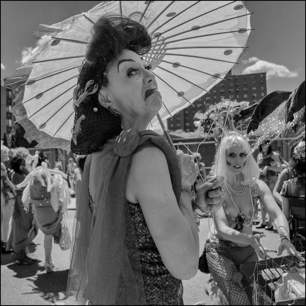 Mermaid Parade, Coney Island, 2012.