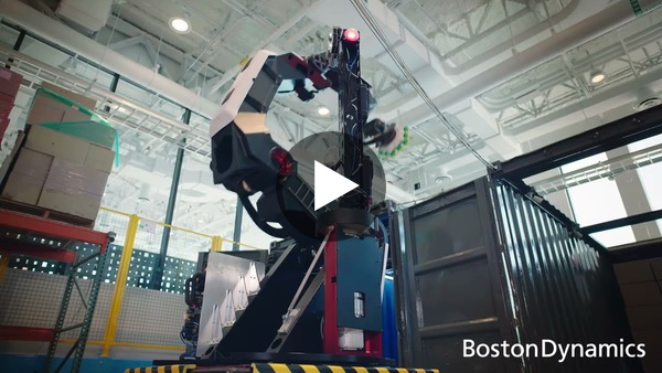Lagerroboter Stretch