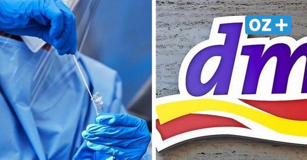 Drogeriekette dm baut Schnelltest-Zentren in MV auf: Welche Filialen mitmachen