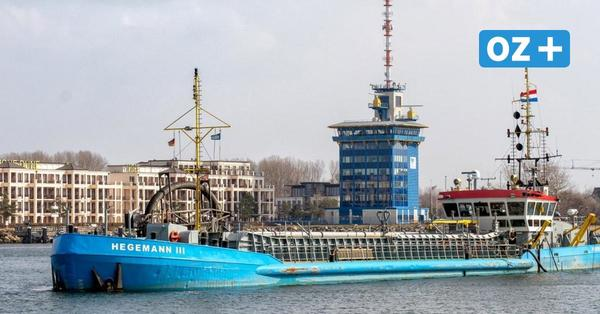 Baggerarbeiten in Rostock: Das passiert im Seekanal