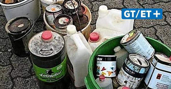 Abfallwirtschaft sammelt kostenlos Schadstoffe