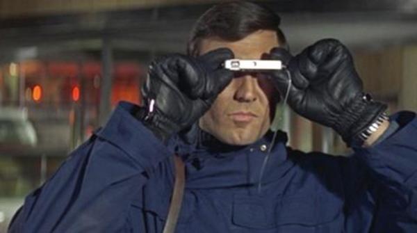James Bond with a spy camera.