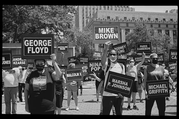 Black Lives Matter at Gay Pride, New York City, 28 June 2020