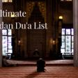 The Ultimate Ramadan Dua List