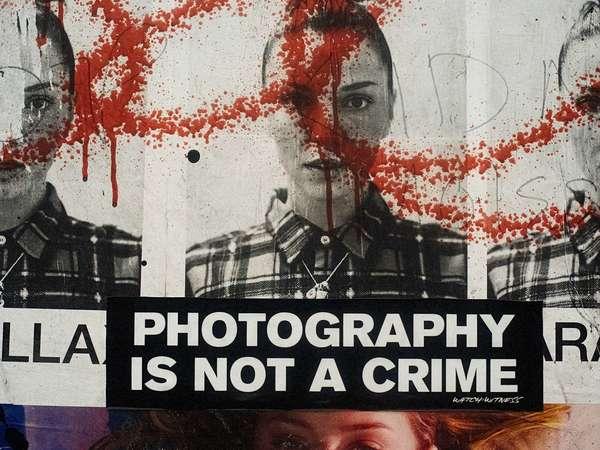 Photography is not a crime, New York City, October 2014