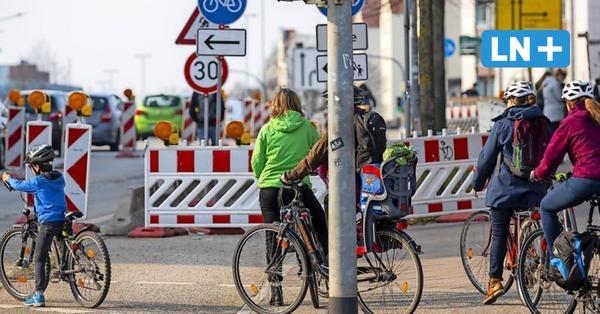Darum geben Bürger der Fahrradstadt Lübeck miese Noten