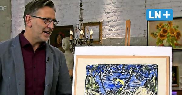 """""""Bares für Rares"""": Rekordpreis für Fehmarn-Bild von Otto Mueller"""