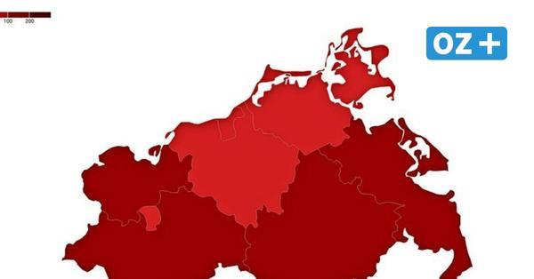 Corona-Inzidenz in MV am 30.3.2021: Überblick über Städte und Landkreise