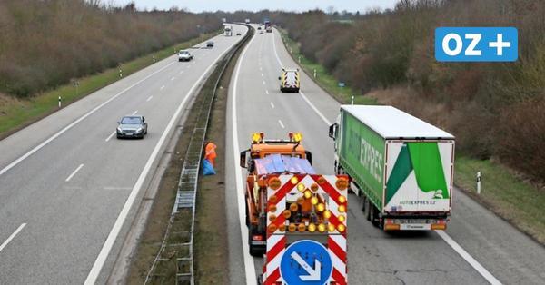 Reinigung im Fahrtwind: Das ist der wohl gefährlichste Job in Mecklenburg