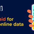 It's your data. Get paid for it.