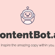 ContentBot - AI Assistant for Copywriters and Marketers