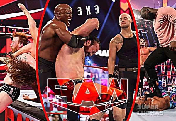 3 x 3: Lo mejor y lo peor de WWE Raw 29 de marzo 2021
