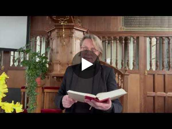 RIJNSATERWOUDE - Palmzondag 28 maart vanuit de Woudse Dom (video)