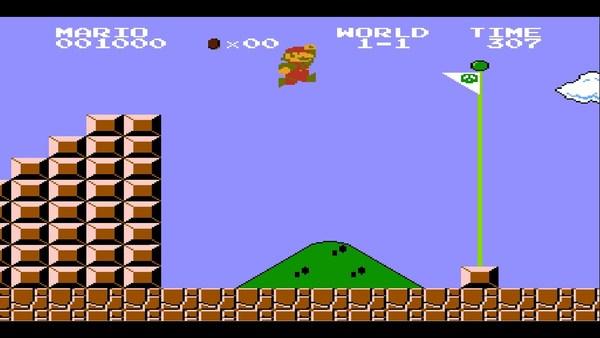 Mario, leveling up