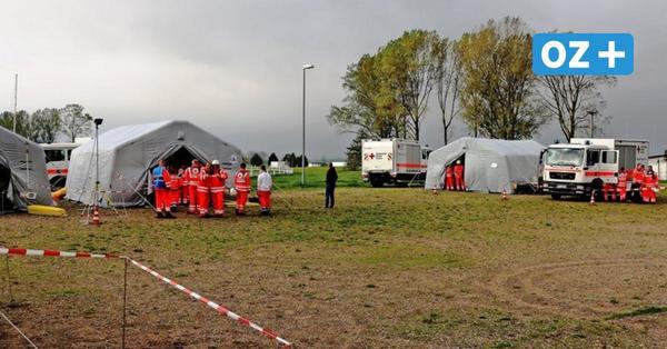 Grevesmühlen: So trainieren die Notfalleinheiten des DRK in Corona-Zeiten