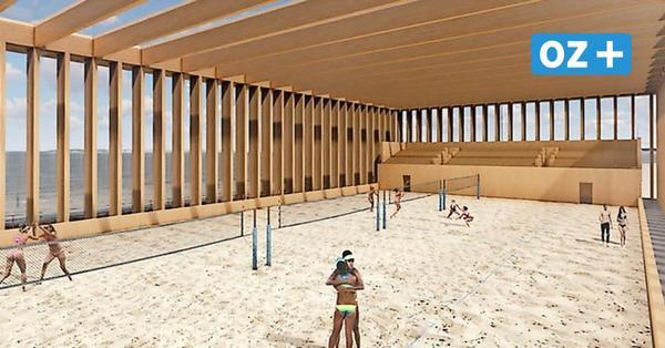Neue Beach-Halle in Stralsund: Das ist die Planung